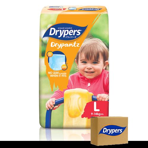 Drypers Drypants Size Large (9 – 14 kgs) – Bulk Boxes