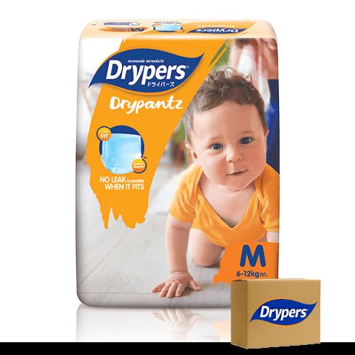 Drypers Drypants Size Medium (6 – 11 kgs) – Bulk Boxes